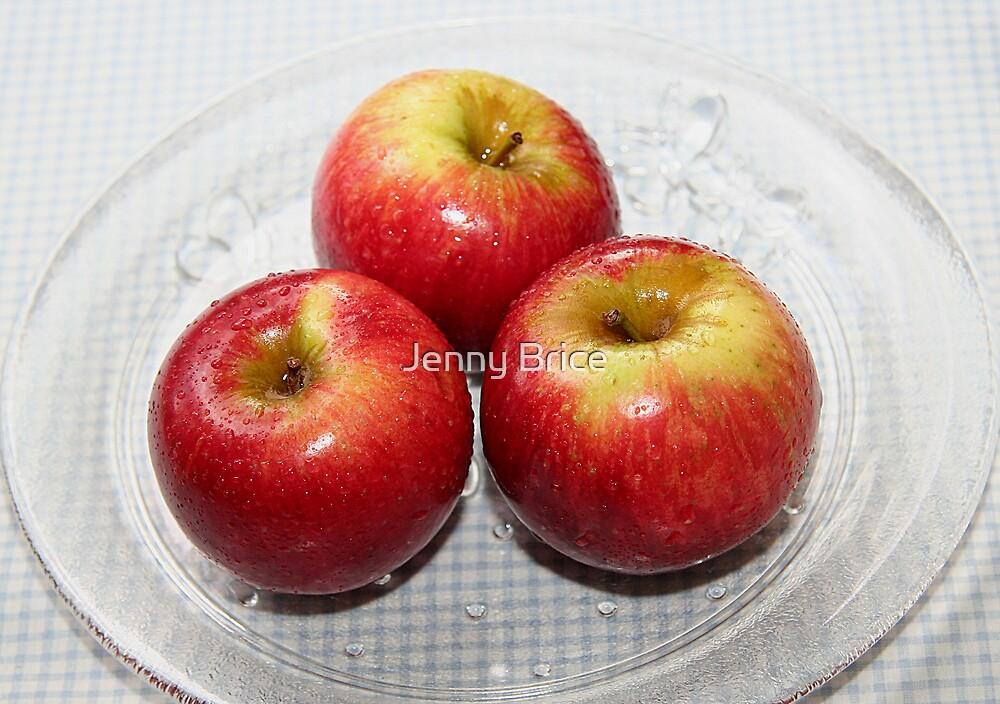 Three Apples by Jenny Brice