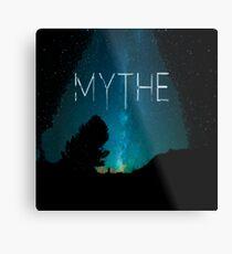 Es ist ein Raum Mythe Metallbild