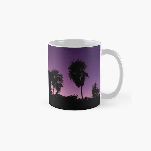 Baywatch tower silhouette sunset Classic Mug