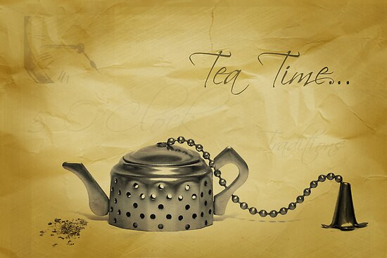 Tea Time... by Viktoryia Vinnikava