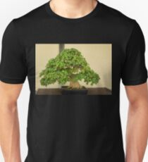 The Living Art of Bonsai - an Old Maple Tree in Miniature Unisex T-Shirt
