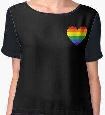Gay Heart (B) Chiffon Top