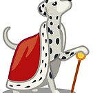 Funny Dalmatian Diva Tshirt - Dog Gifts for Dalmatian Dog Lovers! by Banshee-Apps