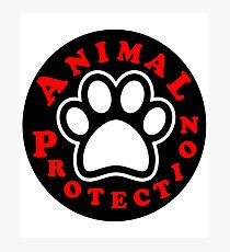 animal protection coat Photographic Print