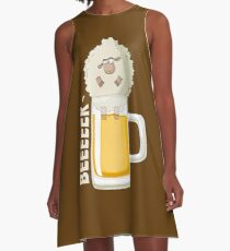 Beer Beer Beeeeer A-Line Dress