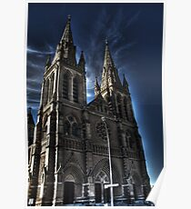 HDR st peters cathedral Poster