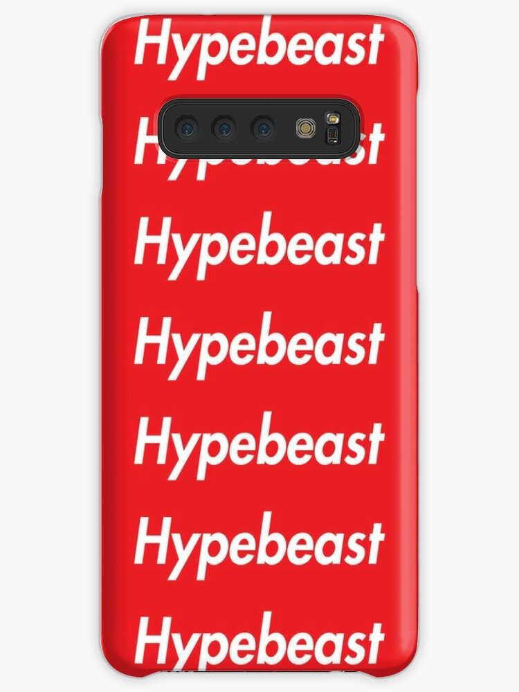 official photos 4db3b f28e3 'Hype Beast Supreme Logo Case' Case/Skin for Samsung Galaxy by mango0319