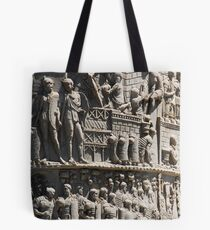 History Engraved Tote Bag