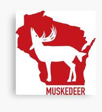 The Legendairy Wisconsin Muskedeer  Canvas Print