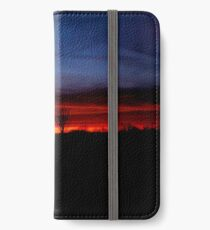 The Painted Sunset iPhone Wallet/Case/Skin