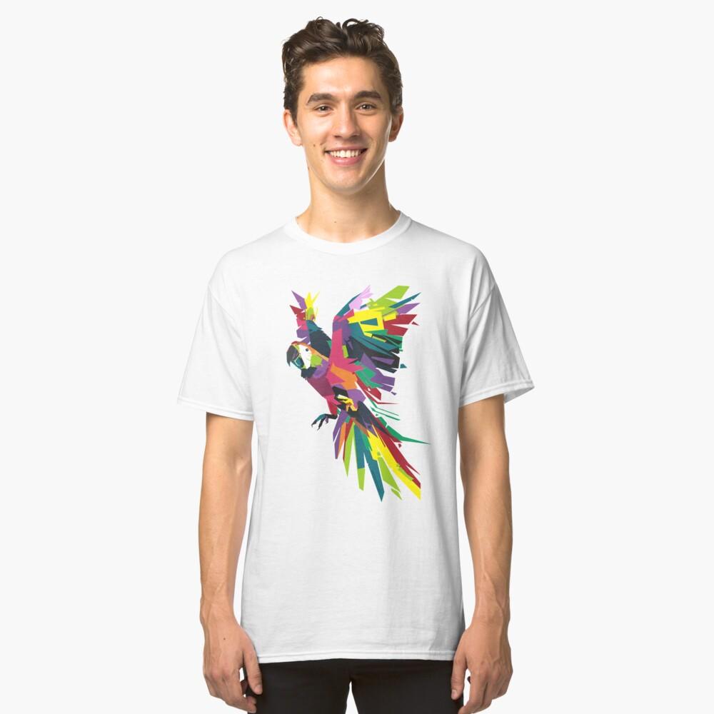 Parrot Vector Classic T-Shirt Front