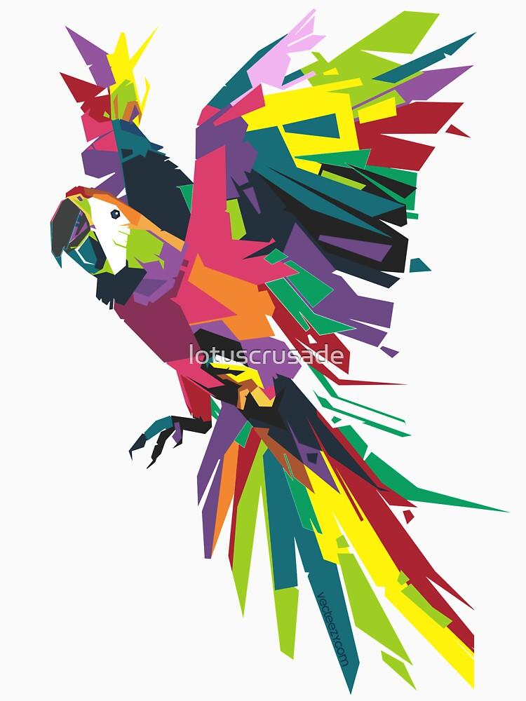 Parrot Vector by lotuscrusade