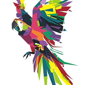 Parrot Vector by lotuscrusade