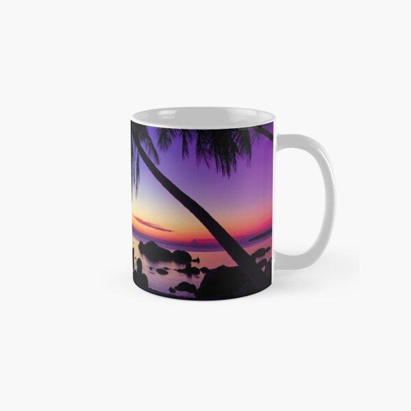 Fantasy sunset landscape Thailand Classic Mug