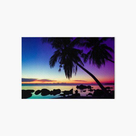 Fantasy sunset landscape Thailand Art Board Print