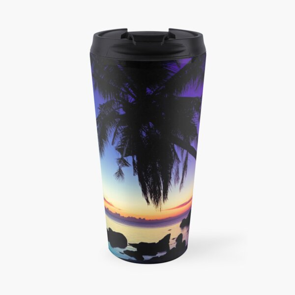 Fantasy sunset landscape Thailand Travel Mug