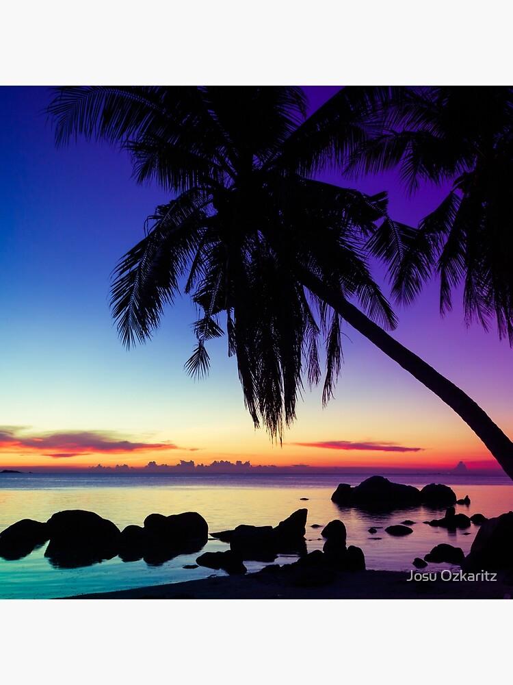 Fantasy sunset landscape Thailand by Joshollywood