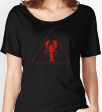Ascend the Dominance Hierarchy Jordan Peterson Lobster Women's Relaxed Fit T-Shirt