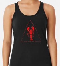 Aufstieg zur Dominanzhierarchie Jordan Peterson Lobster Racerback Tank Top
