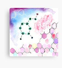 Science Geek Love Canvas Print
