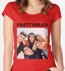 PRETTYMUCH Women's Fitted Scoop T-Shirt