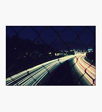 City Flow Photographic Print
