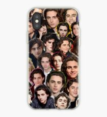 Timothee chalamet Collage iPhone Case