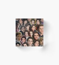 Timothee chalamet Collage Acrylic Block