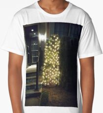Street, City, Buildings, Photo, Day, Trees, New York, Manhattan, Brooklyn Long T-Shirt