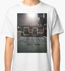 Street, City, Buildings, Photo, Day, Trees, New York, Manhattan, Brooklyn Classic T-Shirt