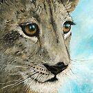 Lion Cub by Janette  Dengo