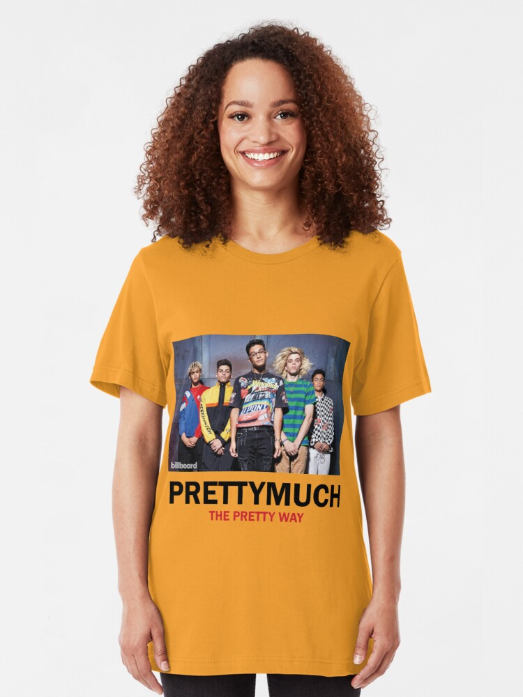 Alternate view of PRETTYMUCH Slim Fit T-Shirt