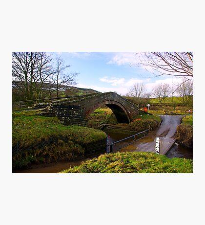Duck Bridge Photographic Print