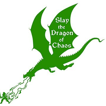 Slay the Dragon of Chaos Jordan Peterson by PrimalCold