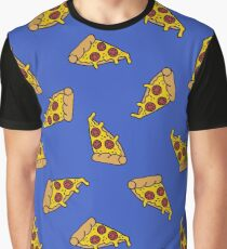 pizza seamless doodle pattern Graphic T-Shirt