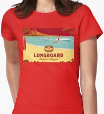 Kona Longboard Women's Fitted T-Shirt