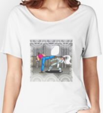 Pixel fight  Women's Relaxed Fit T-Shirt