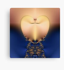 Heart of Gold Canvas Print