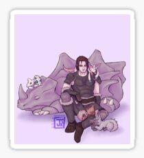 Farkas with Pokemon Sticker