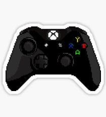 Xbox One Black Controller Pixel Sticker
