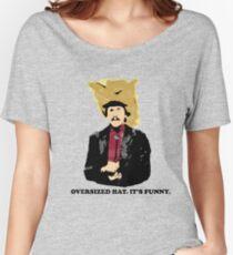 Turd Ferguson Oversized Hat Women's Relaxed Fit T-Shirt