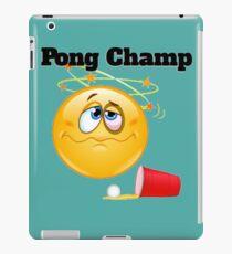 pong champ iPad Case/Skin