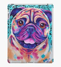 Billy - Tan Pug Dog artwork iPad Case/Skin