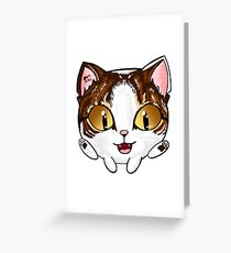 Bubble Cat Dipstick Greeting Card
