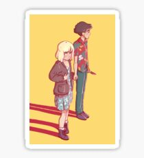end of the f***ing world Sticker
