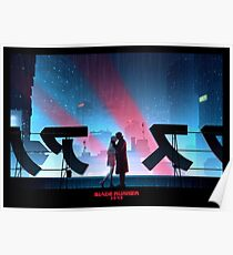 Blade Runner 2049 Rooftop Poster