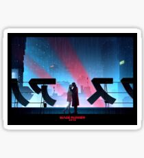 Blade Runner 2049 Rooftop Sticker