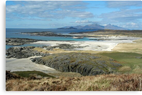 Sanna Bay Ardnamurchan by Louis Costello