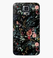 Midnight Floral Case/Skin for Samsung Galaxy