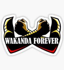 WAKANDA FOREVER T SHIRT Sticker
